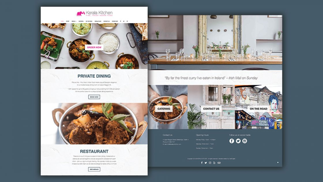 Kerala-Kitchen-Website design and development wordpress
