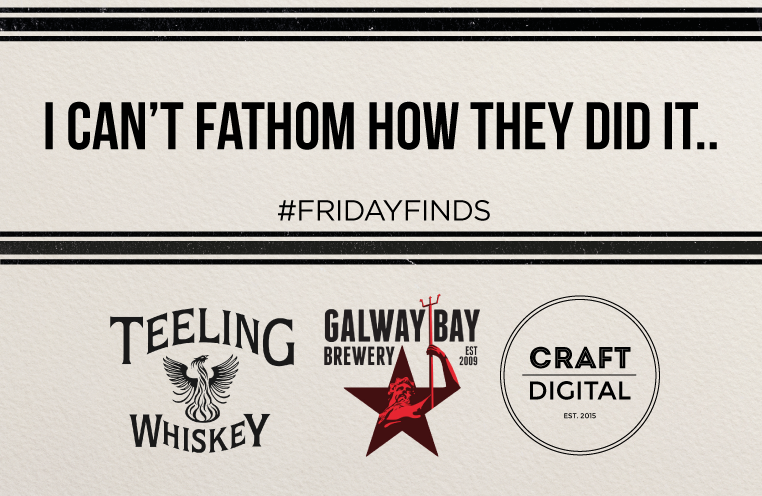 #fridayfinds Galway Bay Brewery Two Hundred Fathoms Blog