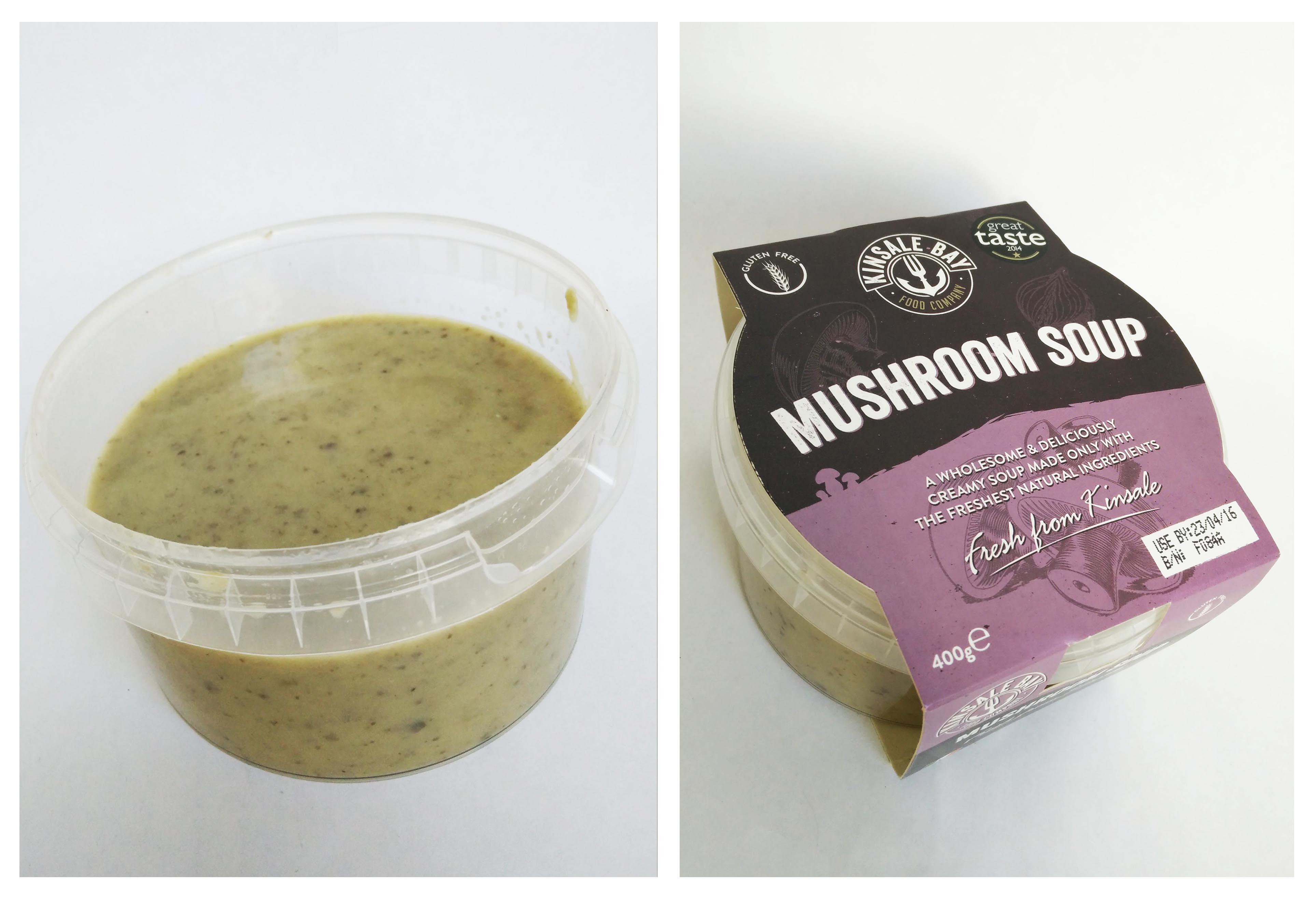 #fridayfinds - Kinsale Bay Food Company Mushroom Soup