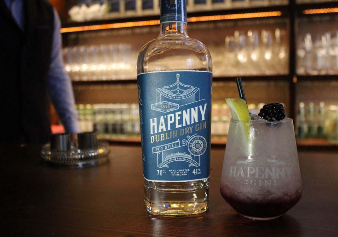 Ha'penny Gin Pearce Lyons Distillery cocktail. Content Creation